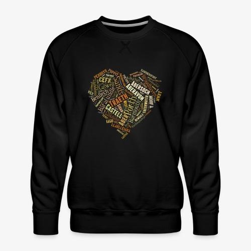 Welsh Beaches - Men's Premium Sweatshirt