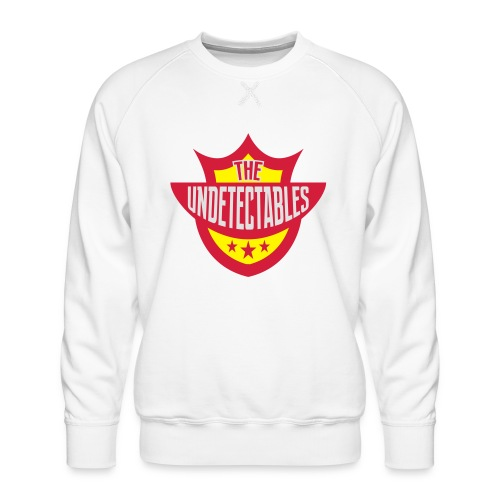 Undetectables voorkant - Mannen premium sweater