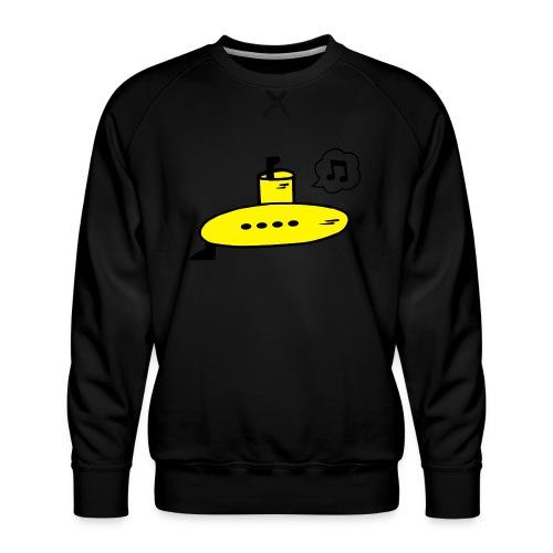 Singing Yellow Submarine - Men's Premium Sweatshirt