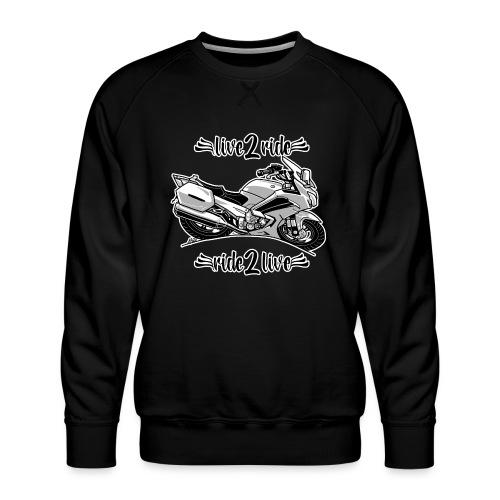 0964 live 2 ride ride 2 live - Mannen premium sweater