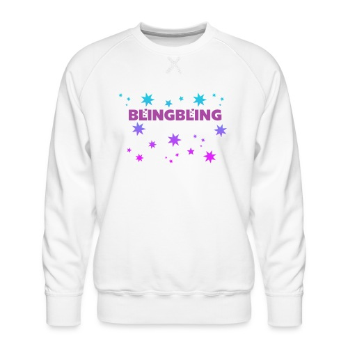 blingbling nixplemplem - Männer Premium Pullover