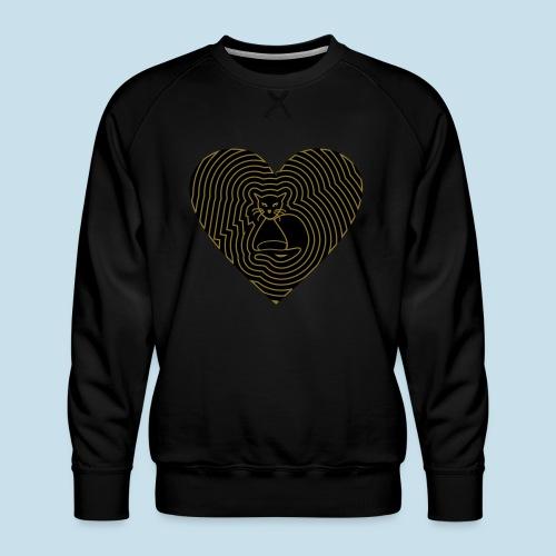 Katzenliebe - Männer Premium Pullover