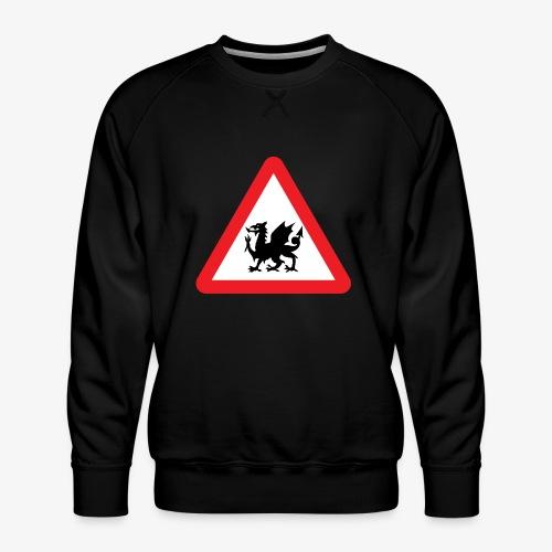 Welsh Dragon - Men's Premium Sweatshirt