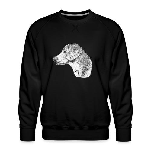 Langhaar Weimaraner - Männer Premium Pullover