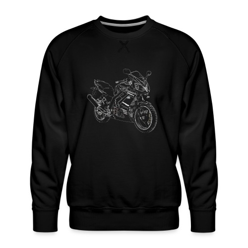 snm daelim roadwin r outline w png - Männer Premium Pullover