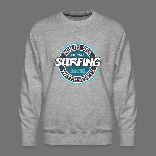 North Sea Surfing (oldstyle) - Miesten premium-collegepaita