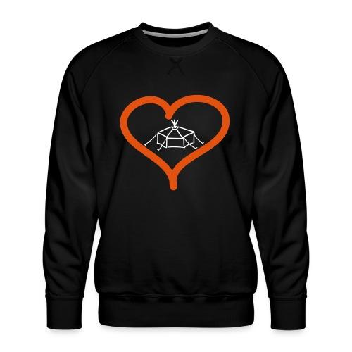 Herzjurte - Männer Premium Pullover