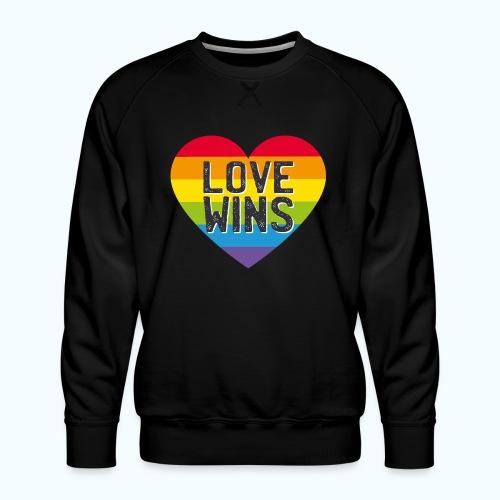 Love Wins - Men's Premium Sweatshirt