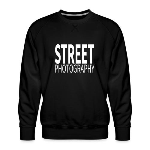 Street Photography T Shirt - Felpa premium da uomo