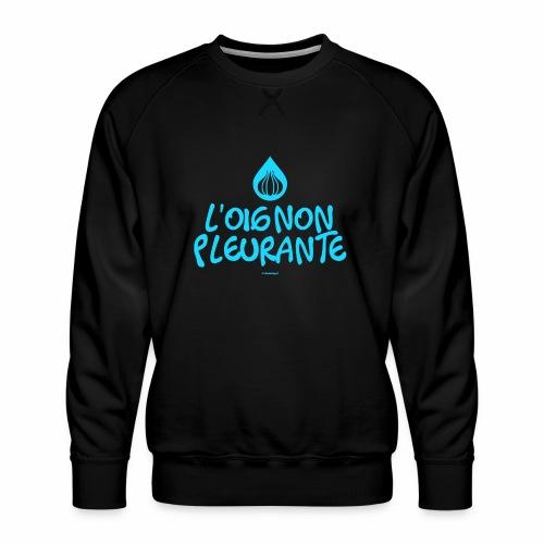 Huilende ui - Mannen premium sweater