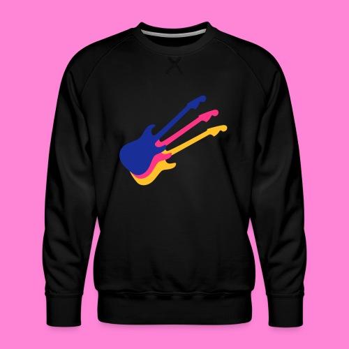 Good guitar black - Mannen premium sweater