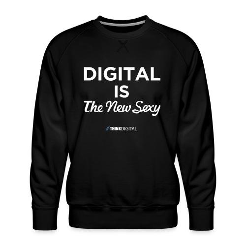 Digital is the New Sexy - Felpa premium da uomo