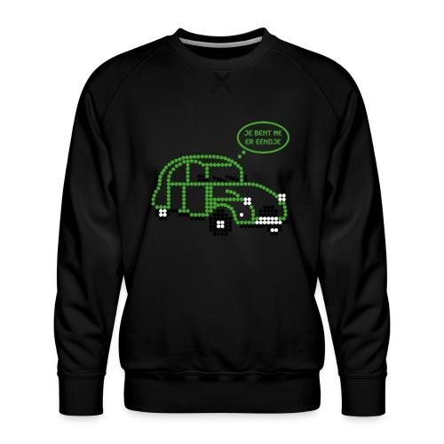 eendje.png - Mannen premium sweater