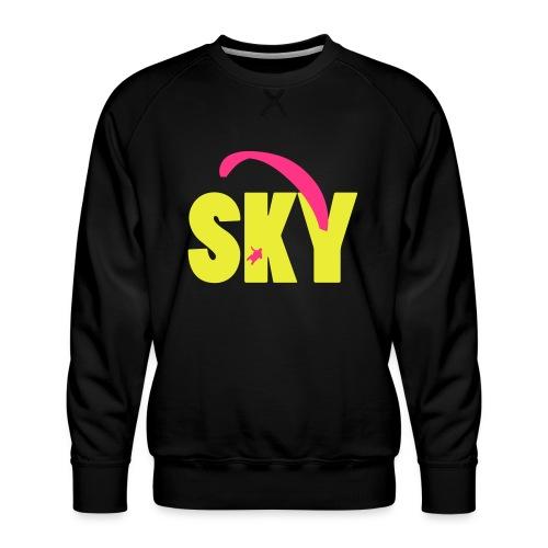 sky - Männer Premium Pullover