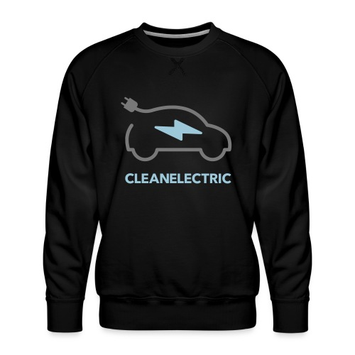 CLEANELECTRIC Logo - Männer Premium Pullover