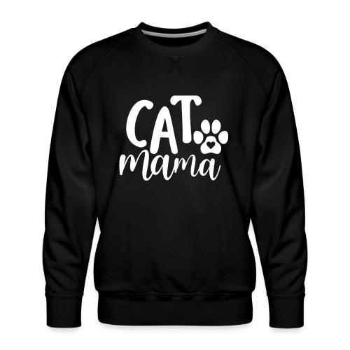 CAT MAMA - Sweat ras-du-cou Premium Homme