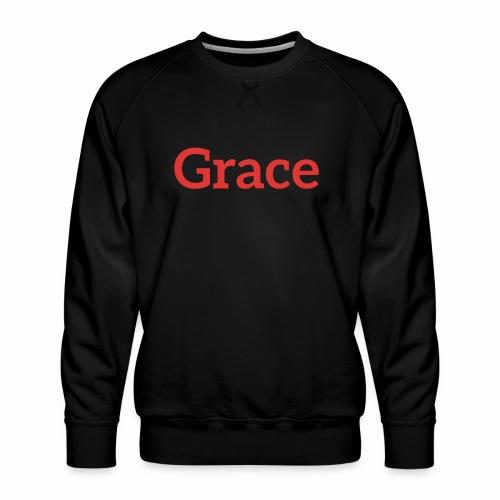 grace - Men's Premium Sweatshirt