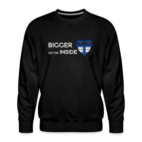 Tardis Heart - Men's Premium Sweatshirt