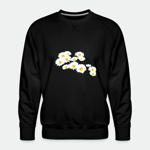 Spring Season Daisies - Men's Premium Sweatshirt