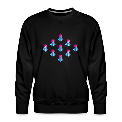 Neo-Pyramids - Männer Premium Pullover