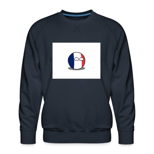 France Simple - Sweat ras-du-cou Premium Homme