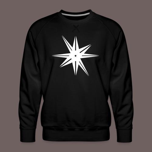 GBIGBO zjebeezjeboo - Rock - Octa Star Blanc - Sweat ras-du-cou Premium Homme