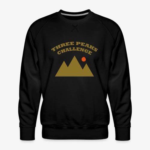 Three Peaks Challenge - Men's Premium Sweatshirt