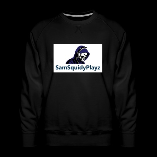 SamSquidyplayz skeleton - Men's Premium Sweatshirt