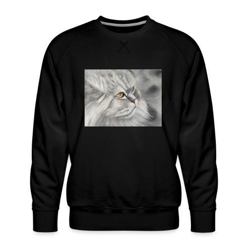 Greta von der Pelz - Männer Premium Pullover