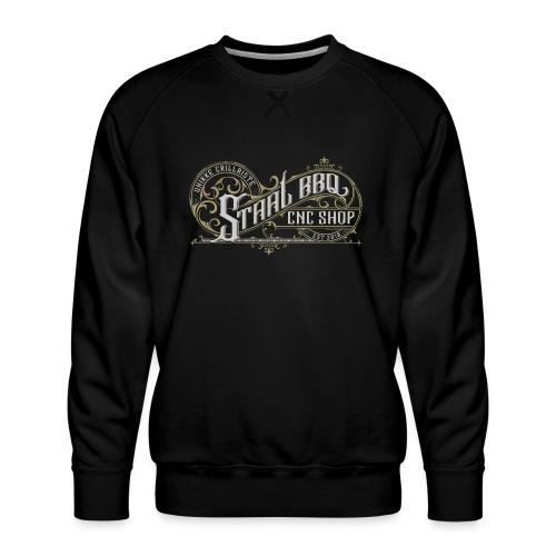 StaalBBQ - Herre premium sweatshirt