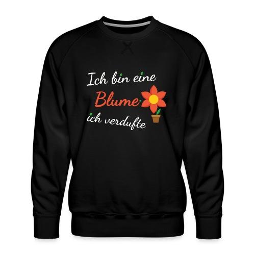 Blume Garten Gärtner Florist Shirt Geschenk - Männer Premium Pullover