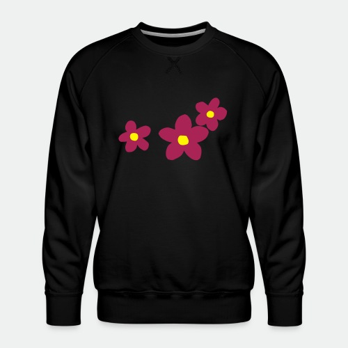 Three Flowers - Men's Premium Sweatshirt