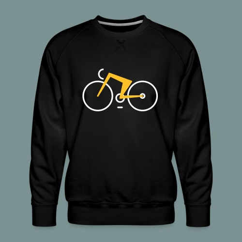 Bikes against cancer - Herre premium sweatshirt