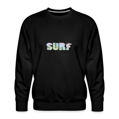 Surf summer beach T-shirt - Men's Premium Sweatshirt