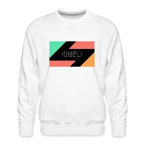 Irmelis Logo glothes - Miesten premium-collegepaita