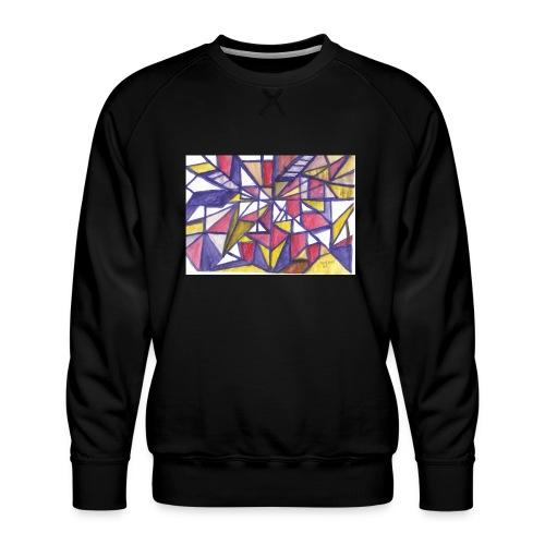 Flickenteppich - Männer Premium Pullover