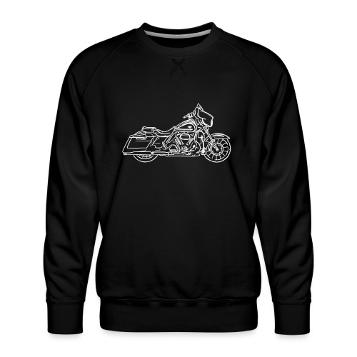 Motorcycle Streetglide - Sweat ras-du-cou Premium Homme