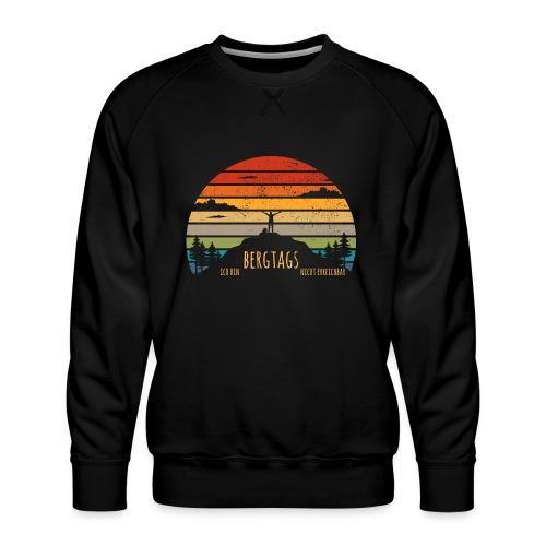 lustige Wanderer Sprüche Shirt Geschenk Retro - Männer Premium Pullover