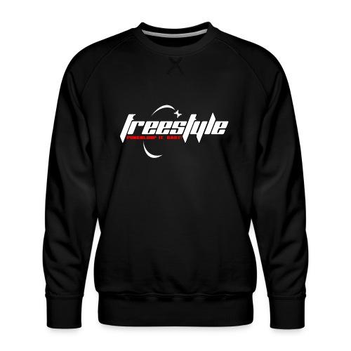 Freestyle - Powerlooping, baby! - Men's Premium Sweatshirt