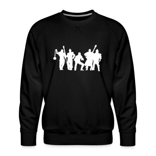Jugger Schattenspieler weiss - Männer Premium Pullover