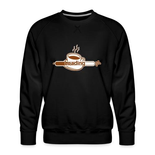 coffee loading - Männer Premium Pullover