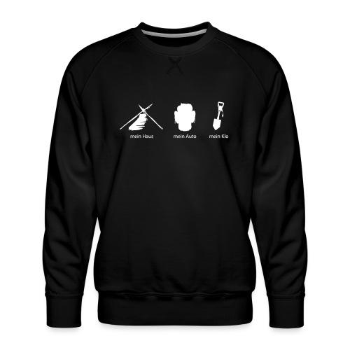 Haus Auto Klo - Männer Premium Pullover
