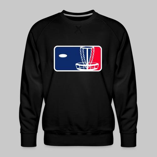 Major League Frisbeegolf - Miesten premium-collegepaita