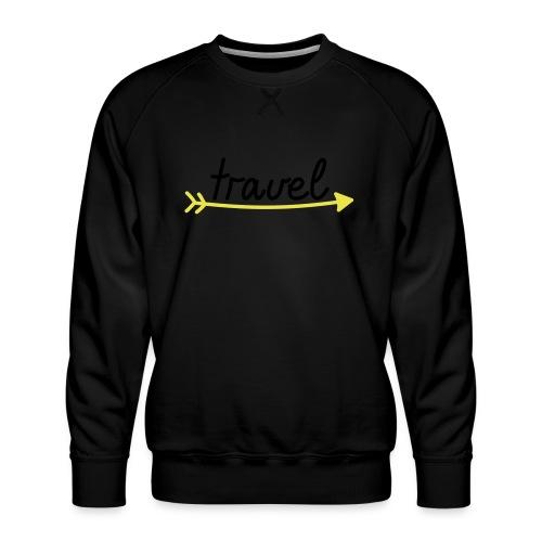 Travel - Männer Premium Pullover