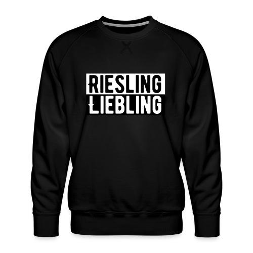 Riesling Liebling / Weintrinker / Partyshirt - Männer Premium Pullover