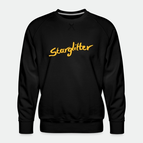 Starglitter - Lettering - Men's Premium Sweatshirt