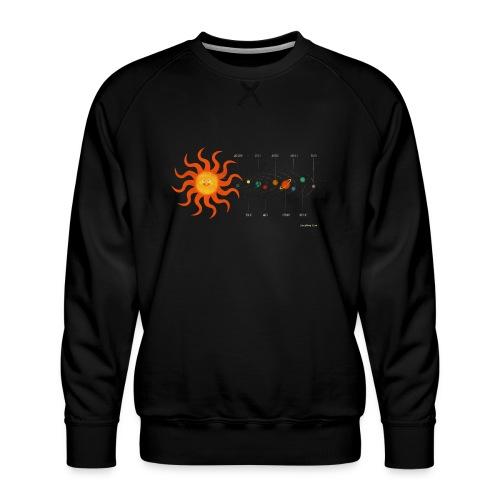 Solar System - Men's Premium Sweatshirt