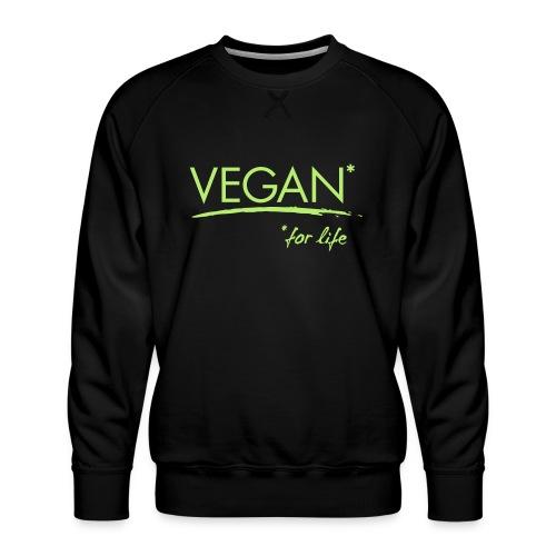 vegan for life 1c - Männer Premium Pullover