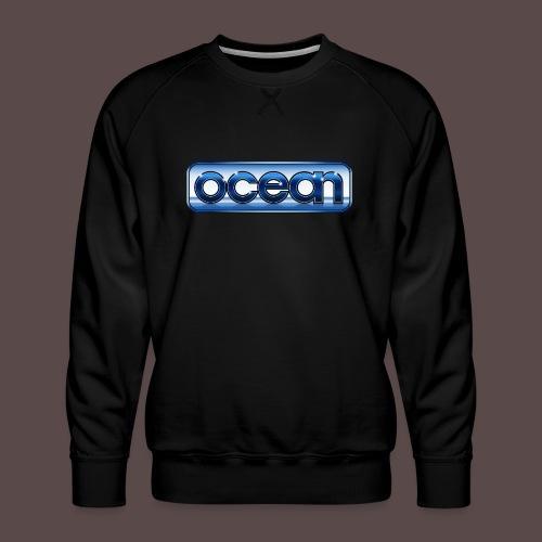 Ocean vintage LOGO - Felpa premium da uomo