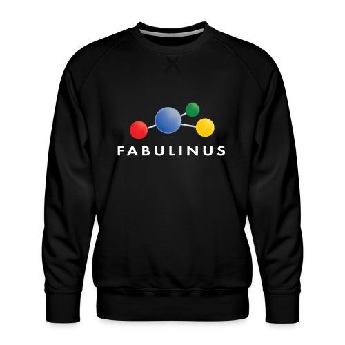 Fabulinus logo enkelzijdig - Mannen premium sweater